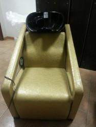 B38#92 Мойка парикмахерская золот лак текстур