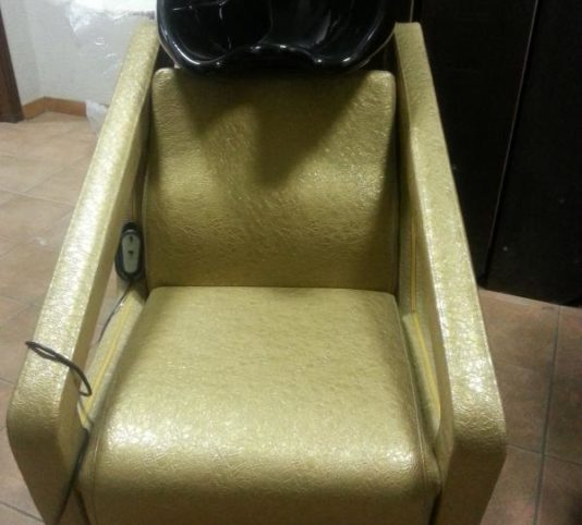 Мойка парикмахерская (золотой цвет, лаковая)